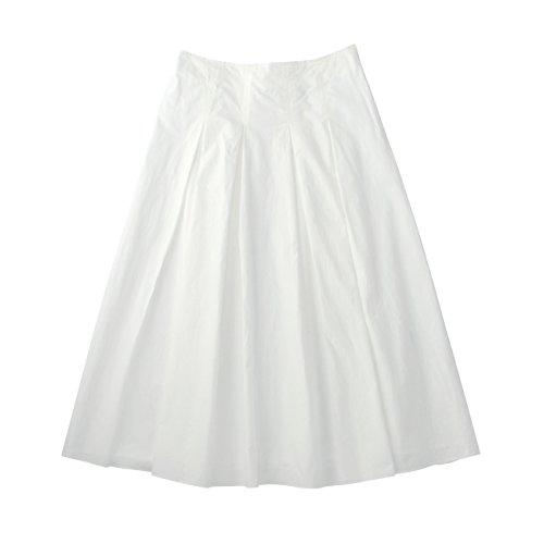 (ル ティロワ ドゥ ドレステリア)LE TiROiR de DRESSTERIOR ダンプロングスカート オフホワイト(003) 02(M)