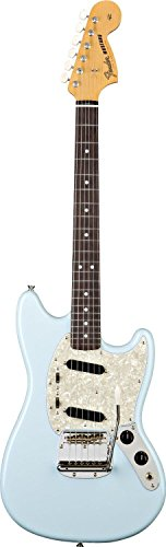 Fender Classic Series Mustang, Rosewood Fingerboard, Daphne Blue