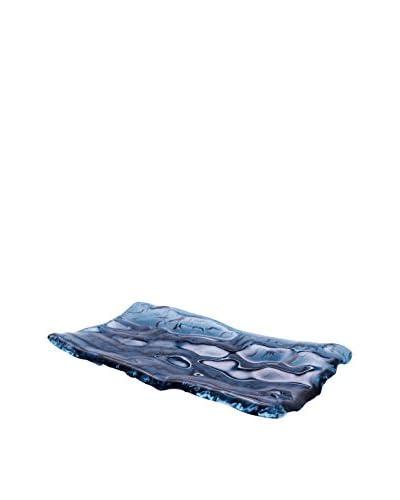 Pordamsa Ocean Blue Glass Tray