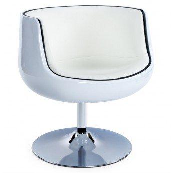 Fauteuil design HARLOW Blanc