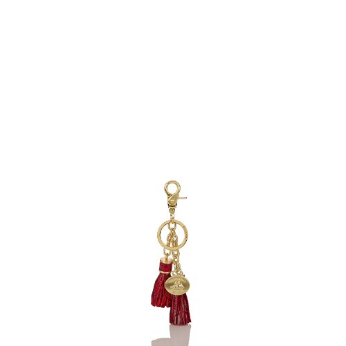 Tassel Key Ring<br>Melbourne Ruby