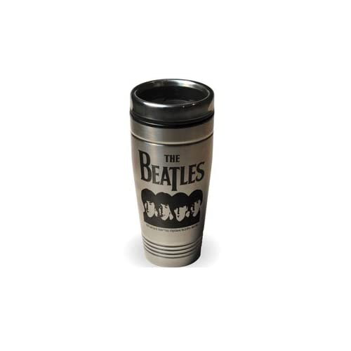 The BEATLES John Lennon Stainless Steel Travel Mug New Gift