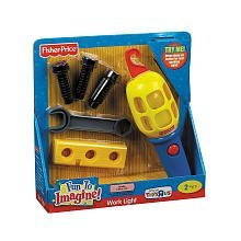 Recommended Age: 2 Years And Up - Fisher-Price Fun To Imagine - Work Light
