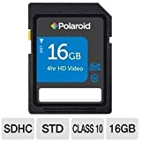Polaroid 16 GB High Speed Class 10 MicroSDHC Flash Memory Card for Tablet PCs and Smartphones (P-SDU16G10-EFPOL)