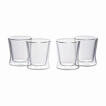 ウェルナーマイスター・耐熱二重ガラス・フリーグラス・4個セット 800-504