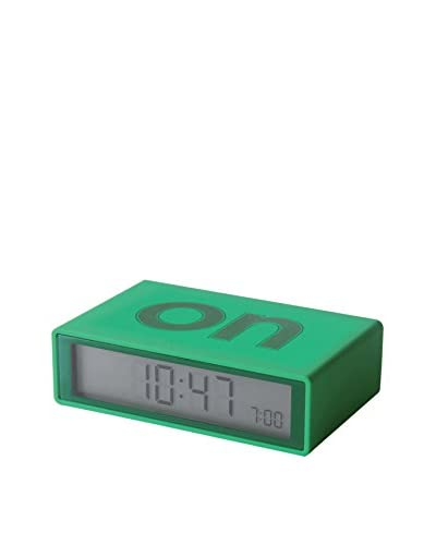 Lexon Flip Clock, Green