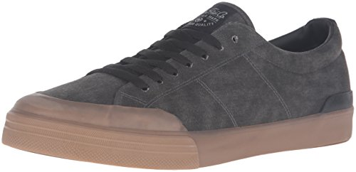 C1RCA Men's Fremont Skateboarding Shoe, Black/Gum, 9.5 M US