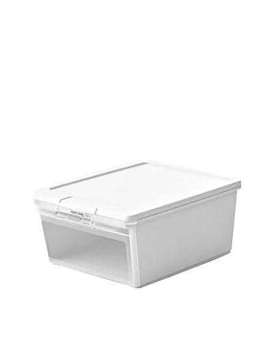 Kis Set Contenitore Organizzazione Spazi 5 Pezzi Twin Box M Bianco