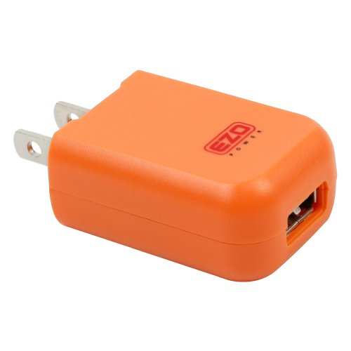 Ezopower 2A /10W Usb Ac Travel Wall Charger Adapter For Ipad, Iphone, Ipod; Android Smartphone, Tablet, Mp3 Player, Gps, Ebook ( Orange)