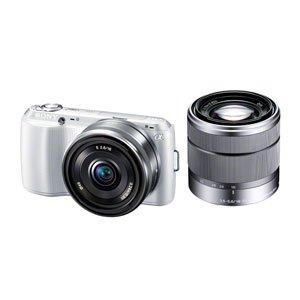 SONY デジタル一眼カメラ α NEX-C3 ダブルレンズキット ホワイト NEX-C3D/W