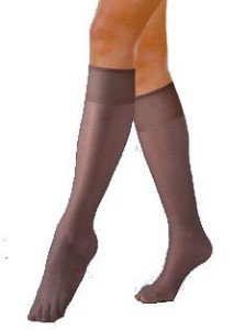 Hanes Alive - Full Support Sheer Knee-High Pantyhose