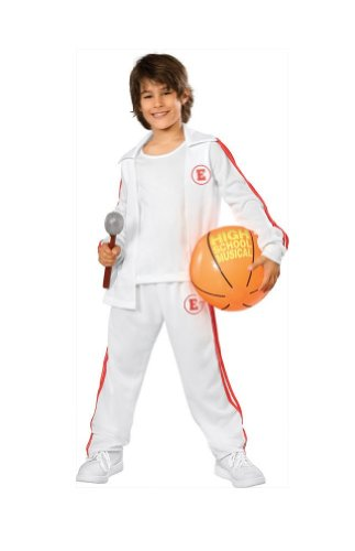 Child Small (Size 4-6, 3-4 Years) High School Musical Troy Costume (Gabriella High School Musical Costume)