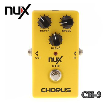 nux-ch3-vintage-chorus-guitar-pedal-low-noise-bbd-high-quality-true-bypass-pedal