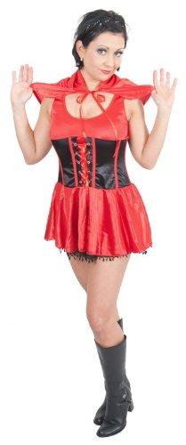 Sexy Damen Rotkäppchen Kostüm