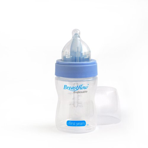 The First Years Breastflow Disposable Bottle, 4 Ounce (Discontinued by Manufacturer)