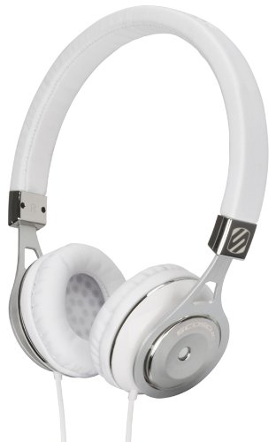 Scosche Rh600W Realm On - Ear Headphones With Tapline Iii - Retail Packaging - White