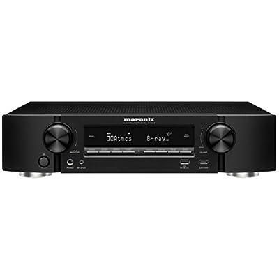 marantz AVサラウンドレシーバー 7.2ch Dolby Atmos DTS:X HDCP2.2 Wi-Fi/Bluetooth ワイヤレス/ハイレゾ音源対応 ブラック NR-1606/FB