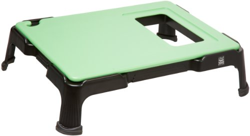 "San Jamar Cbv1824Sys Chef Revival Chef-Prep System, 29"" Length X 22-1/4"" Width X 7-1/2"" Height, Green, For Food Prep Station back-623643"
