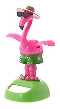 Dancing Flamingo with Sunglasses Sola…