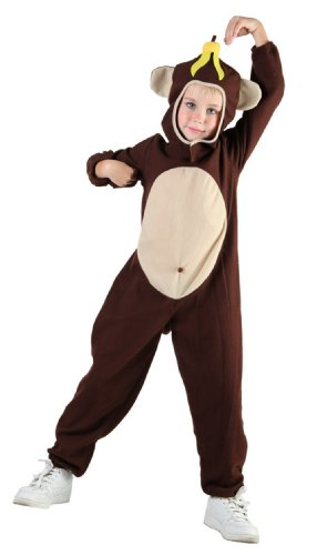 Monkey Children's Fancy Dress Costume Age 4-6 Years