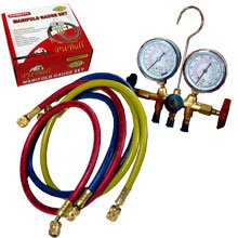 Pit Bull CHIMG777 Pit Bull CHIMG777 R12 A/C Air Conditioning Ac Refrigerant Manifold-Gauge Set