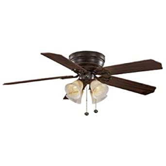 Hampton Bay Carriage House 52 In Iron Indoor Ceiling Fan