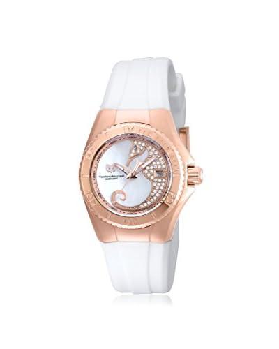 TechnoMarine Women's TM-115208 Cruise Dream White/White Solid Stainless Steel Watch