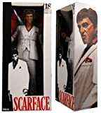 """ScarFace 18"""" Action Figure w/sound and White Tux"""