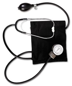 Cheap Blood Pressure Manual Kit Stethoscope Large Cuff – Omron 104-MAJ (104-MAJ)