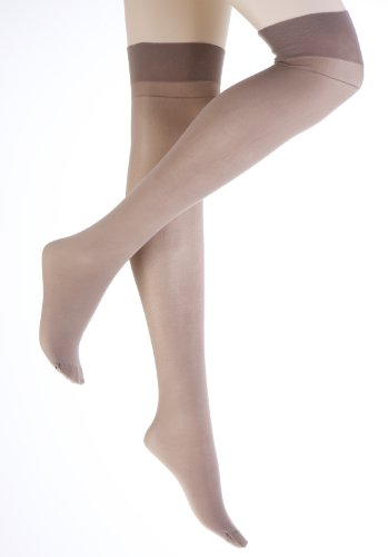 Semi Support Stockings Mink 3 Pair Pack