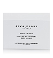 Acca Kappa Box of 6 White Moss Bath Tablets