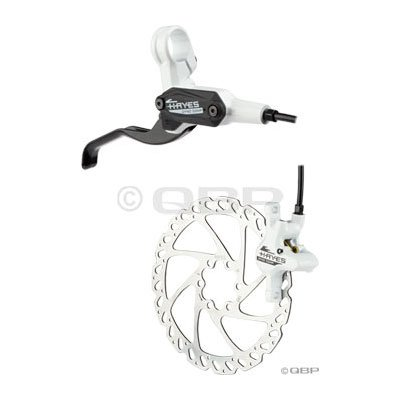 Buy Low Price Hayes Dyno Comp Rear Disc Brake White 160mm Rotor (B007FTMH0A)
