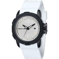 時計 Black Dice メンズ Vibe BD-065-06 White Silicone Quartz Watch with White Dial [並行輸入品]