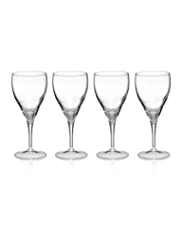 4 Fiore Wine Glasses