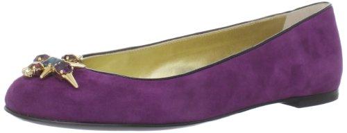 Rev Giuseppe Zanotti Women's I26049 Ballet Flat