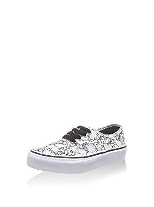 Vans Zapatillas K Authentic (Blanco / Negro)