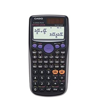 Casio FX300ESPLUS FX-300ESPLUS Scientific Calculator, 10-Digit, Natural Textbook Display, LCD (Color: gray, Tamaño: FX300ESPLUS)