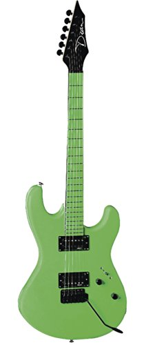 Dean Guitars Custom Zone Electric Guitar (Neon Green)