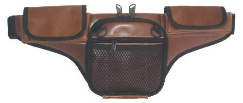 DTOM Law Enforcement Concealed Carry Fanny Pack BUFFALO LEATHER - Brown from DON'T TREAD ON ME CONCEAL AND CARRY HOLSTERS