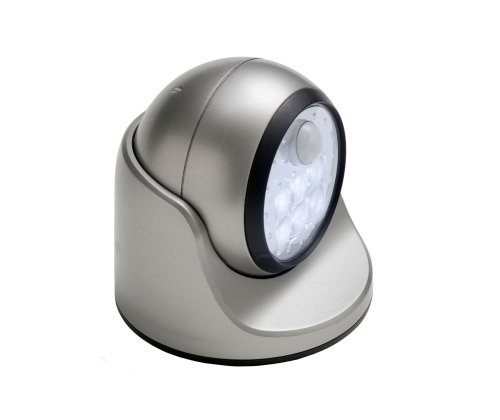 Images for Fulcrum 20031-101 Motion Sensor LED Porch Light, Silver