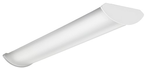 Lithonia Stl4 48L D50 Lp835 Nx 4-Feet Volumetric Led Wraparound Indoor Light, White