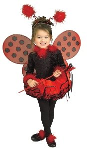 Deluxe Lady Bug Costume - Toddler front-1073029