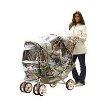 Especially for Baby Tandem Stroller Rain Cover - 1