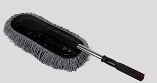 SaySure - Gray Car Cleaning Wash Brush Dusting Tool Large