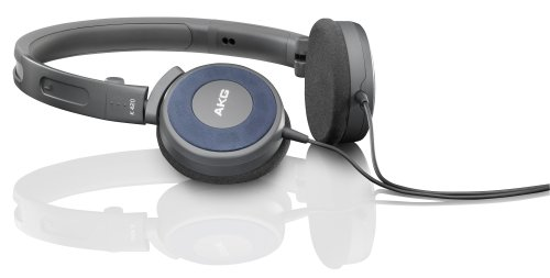 Akg K 420 Foldable Mini Headphone - Blue (Discontinued By Manufacturer)