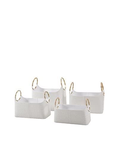 4-Piece Amelia Magazine Basket Set