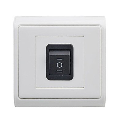 Commoon Led Wall Switch Panel Three Switch Horizontal/Vertical Pack