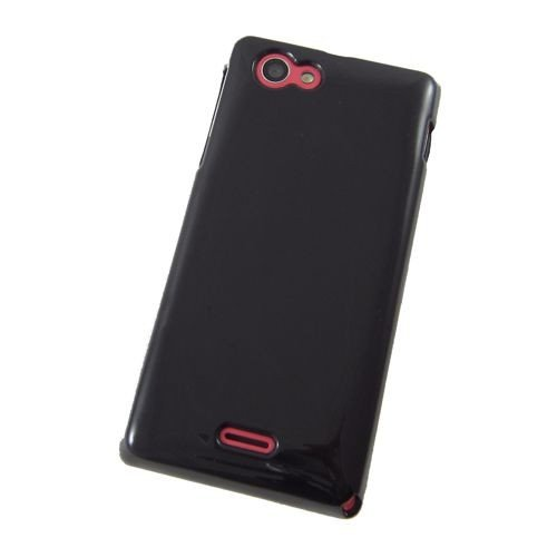 COGODIS TPU-Case / Hülle zu Sony Xperia J / ST26i - Schwarz - Handy-Schutz-Hülle, Backcover