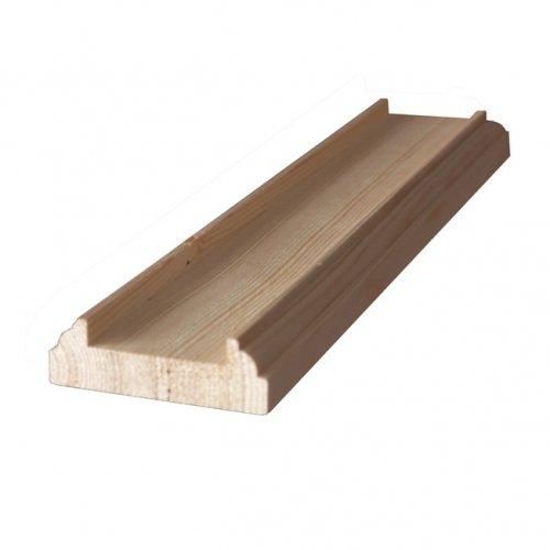 Pine Baserail 3.6m length 41mm groove