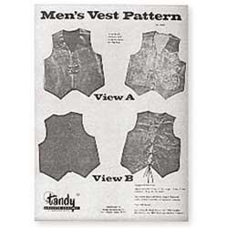 Tandy Leather Men's Vest Pattern Pack